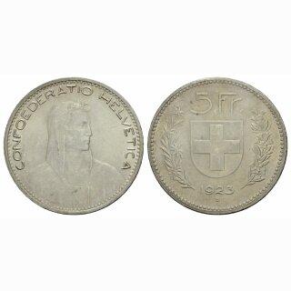 Schweiz 5 Franken 1923 B