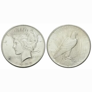USA 1 Dollar 1922 Peace