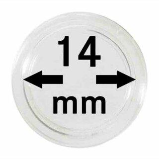 Münzenkapseln Ø 14 mm (100er Pack)