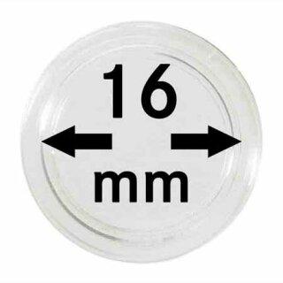 Münzenkapseln Ø 16 mm (100er Pack)