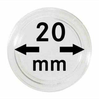 Münzenkapseln Ø 20 mm (100er Pack)