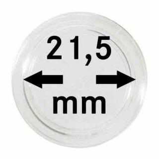 Münzenkapseln Ø 21.5 mm (100er Pack)