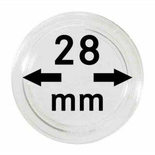Münzenkapseln Ø 28 mm (100er Pack)