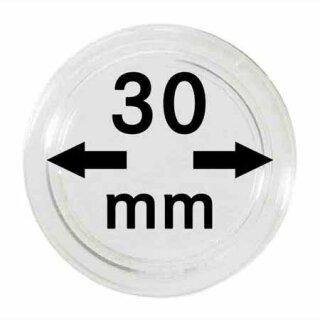 Münzenkapseln Ø 30 mm (100er Pack)