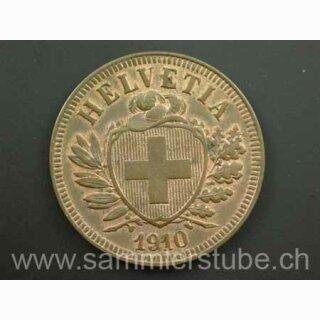 2 Rappen 1910 B Schweiz