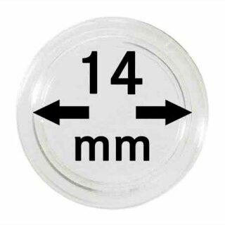 Münzenkapseln Ø 14 mm (10er Pack)