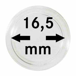 Münzenkapseln Ø 16.5 mm (10er Pack)