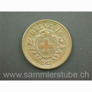 Schweiz 1 Rappen 1912