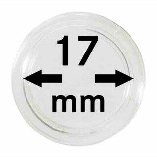 Münzenkapseln Ø 17 mm (10er Pack)