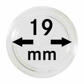 Münzenkapseln Ø 19 mm (10er Pack)