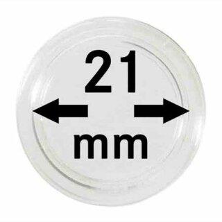 Münzenkapseln Ø 21 mm (10er Pack)