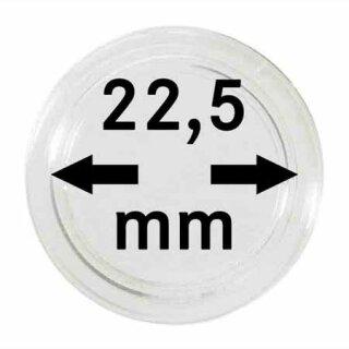 Münzenkapseln Ø 22.5 mm (10er Pack)