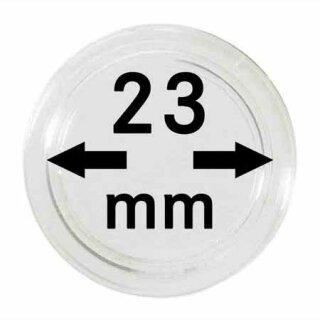 Münzenkapseln Ø 23 mm (10er Pack)