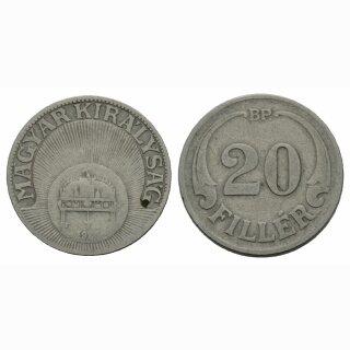 Ungarn 20 Filler  1926?