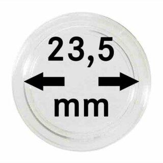 Münzenkapseln Ø 23.5 mm (10er Pack)
