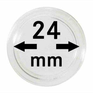 Münzenkapseln Ø 24 mm (10er Pack)
