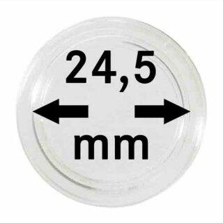 Münzenkapseln Ø 24.5 mm (10er Pack)