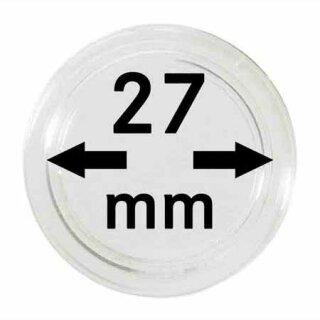Münzenkapseln Ø 27 mm (10er Pack)