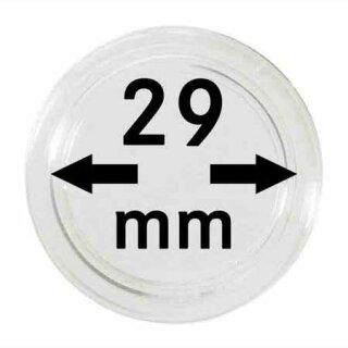 Münzenkapseln Ø 29 mm (10er Pack)