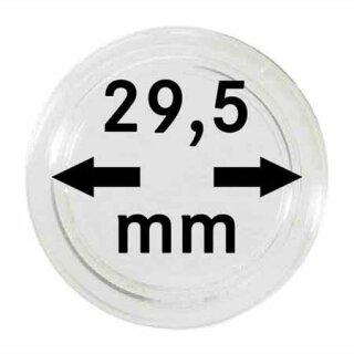 Münzenkapseln Ø 29.5 mm (10er Pack)