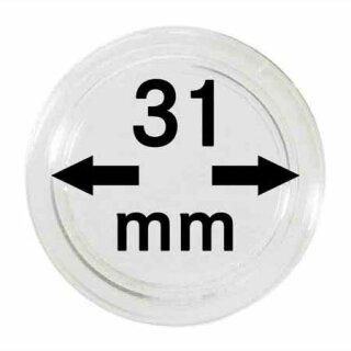 Münzenkapseln Ø 31 mm (10er Pack)