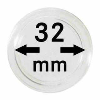 Münzenkapseln Ø 32 mm (10er Pack)