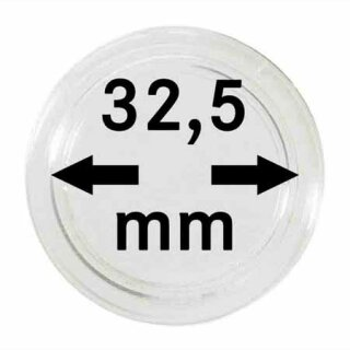 Münzenkapseln Ø 32.5 mm (10er Pack)