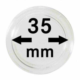 Münzenkapseln Ø 35 mm (10er Pack)