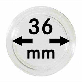 Münzenkapseln Ø 36 mm (10er Pack)