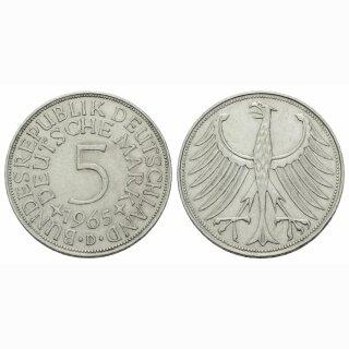 Deutschland 5 Mark 1965 D