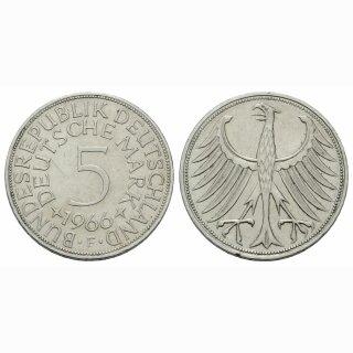Deutschland 5 Mark 1966 F