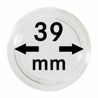Münzenkapseln Ø 39 mm (10er Pack)