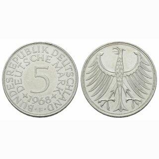 Deutschland 5 Mark 1968 F