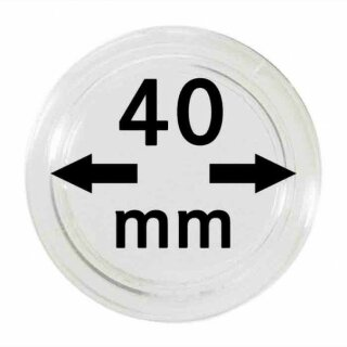 Münzenkapseln Ø 40 mm (10er Pack)