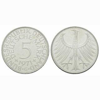 Deutschland 5 Mark 1971 G