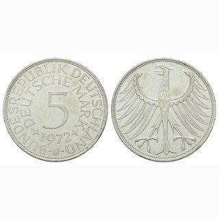 Deutschland 5 Mark 1972 D
