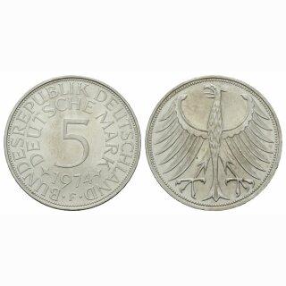 Deutschland 5 Mark 1974 F