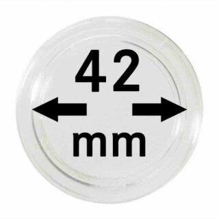 Münzenkapseln Ø 42 mm (10er Pack)