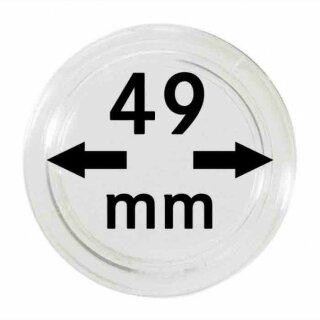 Münzenkapseln Ø 49 mm (10er Pack)