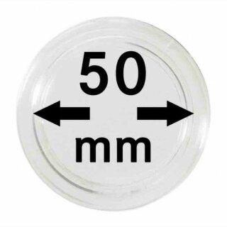Münzenkapseln Ø 50 mm (10er Pack)
