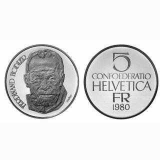 Schweiz 5 Franken 1980 B Ferdinand Hodler